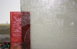 "Tinted Circles Static Cling Window Film, 36"" Wide x 10 ft - $89.60"
