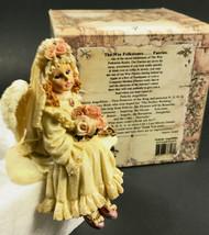 Boyds Bears Wee Folkstones Faeries Felicity Angelbliss 36103 Box Shelf Sitter - $9.60