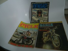 Vintage 1960's – 1990's Lot of 3 Motorcycle Magazines - $19.99