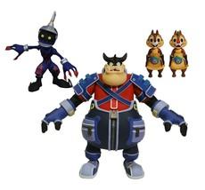 DIAMOND SELECT TOYS Kingdom Hearts Select Series 2: Pete, Chip & Dale, &... - $36.60
