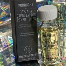 Youth To The People 1ozEach 1xKombucha AHA Power Toner 3xKale Spinach Cleanser image 3