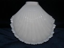 Westmoreland Milk glass 3 toed Shell Nut Dish - $10.00