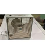 """Vintage Penncrest Light Blue 22"""" Box Fan 3 speed - $148.50"""