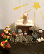 Nativity fondant toppers - $190.00