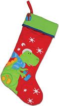 Stephen Joseph Christmas Stocking Dino - $38.31