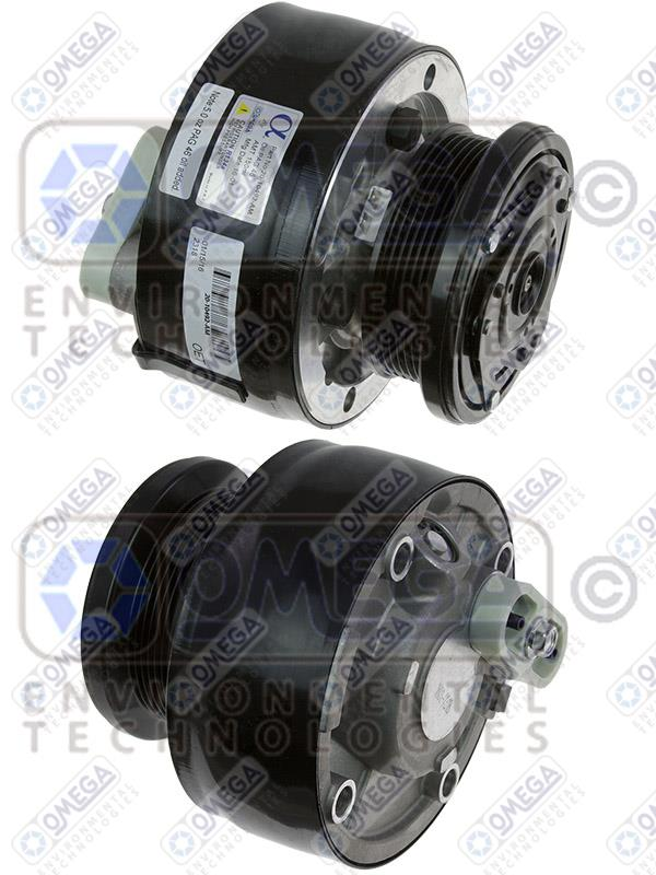 Et c1500 suburban blazer pickup truck ac air conditioning compressor with clutch 20 10492 am jpg