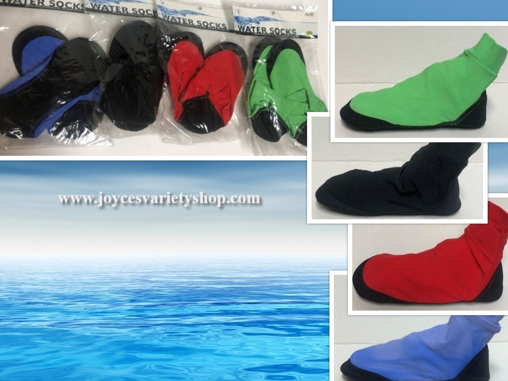 Primary image for AVID Water Socks UPF 50+ Protection Children Size Small (11-13) Various Colors