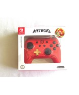 Nintendo Switch Metroid Red Gold Chrome Wired Controller Special Limited... - $29.99