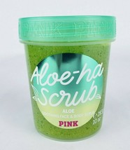Victoria's Secret PINK Aloe-Ha Scrub Soothing Face and Body Scrub New - $10.88