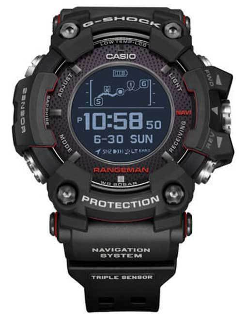 Primary image for New Casio G-Shock Rangeman Solar GPS Navigation Bluetooth Watch GPRB1000-1