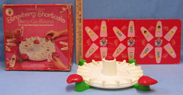 Strawberry Shortcake Berry Go Round Board Game Parker Brothers Parts Only - $11.87