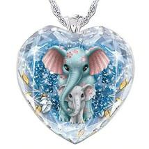 Fashion Heart Pendant  Animal Necklace Elephant Wolf Dog Bird Buy 2 get ... - $16.19