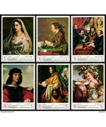 YEMEN / UNESCO=FAMOUS PAINTINGS (RAPHAEL, RUBENS,etc MNH (L-19) - $2.57