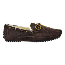 Polo Ralph Lauren Mens Wynding's Loafer's Dark Charcoal-Natural 80366965... - $99.95
