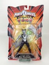 Power Rangers Jungle Fury Black Bat Ranger Action Figure Sealed Bandai 2007 - $44.50
