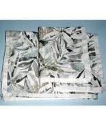 Sferra Sastina Queen Duvet Cover 3 PC Set Foliage Print Cotton Sateen It... - $395.90