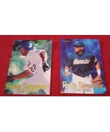 1997 Fleer Rookie Sensations Lot Of 2 Cards: #9 Alex Ochoa & #12 Bob Abreu - $1.00