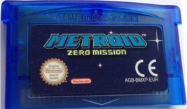 METROID ZERO MISSION  - GBA NINTENDO GAME BOY ADVANCE Videospiel - Spanish - $21.02