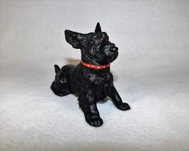 Antique Cold Painted Austrian Scotch Terrier Ashtray Metal Figure Trap D... - $125.00