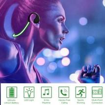 Wireless Sport Headset Headphone LED Light Earphone W/Mic For Night Running - $16.99