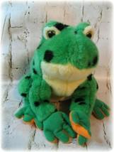 Ty Beanie Babies Buddies Lilypad Tree Frog Lovey Plush Pillow Pal Classi... - $15.19