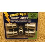 Thunder Bolt Security Lug Nuts 1/2 in. x 20 Thread Standard Mag (19911) - $12.82