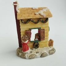 Bear House Christmas Decor Holiday Ornament - $14.54