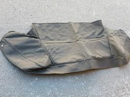 89-93 Jaguar XJS XJ-S Convertible Top Tonneau Boot Canvas Cover - BLACK image 1