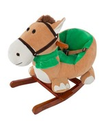 Plush Browns Rocking Horse with Seat - $106.10