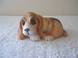 "Vintage Homco # 1407 Basset Hound Puppy "" Beautiful Collectible Item "" - $9.49"