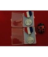 AAU Florida Gold Coast Senior Champion Swimming 2 Medals RARE - $20.00