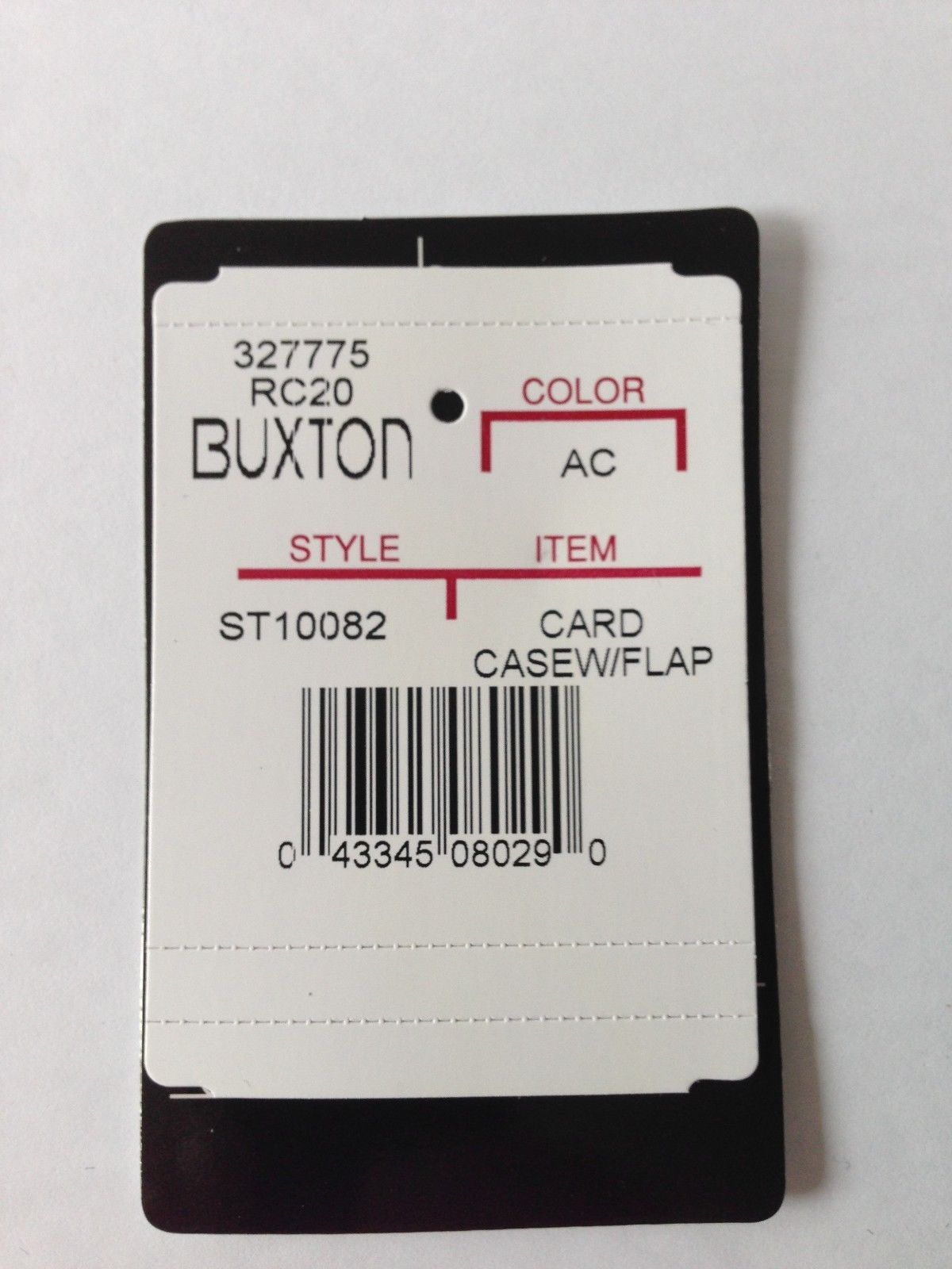 Buxton Business Card / Credit Card Case / and similar items