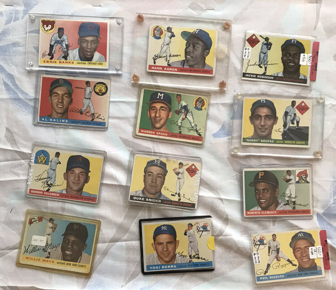 Primary image for 1955 Topps Baseball Card Set See Photos