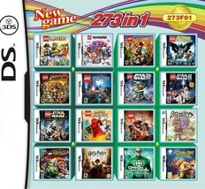 273 in 1 Compilations Video Game DS/3DS Cartridge Card Compatible Model ... - $36.06