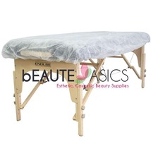10 Pcs 76x36x6 Disposable Fitted Sheets Massage Table Covers  - BD1201 x1 - $24.98