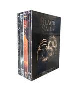 Black Sails The Complete Seasons 1-4 1,2,3,4 DVD Box Set 12 Disc Free Sh... - $48.80