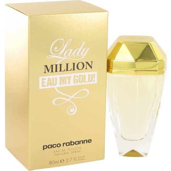 Paco rabanne lady million eau my gold perfume