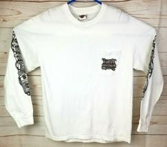 Bumpus Harley Davidson of Jackson TN 2009 LS Shirt White L? Cards & Barb... - $18.86