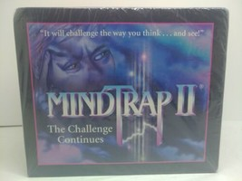 Pressman 1997 Mindtrap The Challenge Continues  Game New Factory Sealed - $39.99