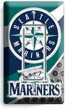 SEATTLE MARINERS BASEBALL TEAM LIGHT SWITCH 1 GFI PLATES MAN CAVE ROOM A... - $10.99