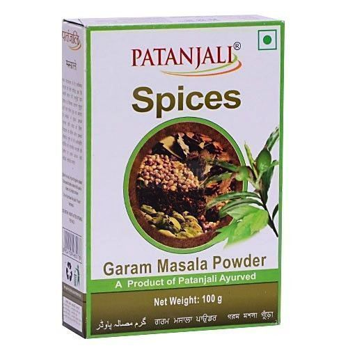 Primary image for 2X patanjali Garam Masala RAMDEV HERBAL 100gm each