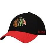 CHICAGO BLACKHAWKS NHL adidas SPORT LEFT CITY Stretch Flex Hat Men's Sz.... - $22.76