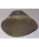 Antique Primitive Milk Cream Tin Skimmer Strainer Paddle - $8.95