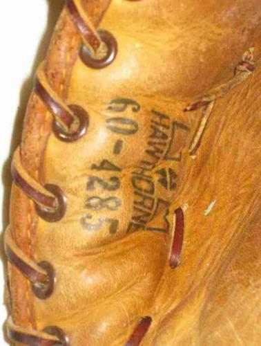 Neat Vintage Hawthorne Trapper Major League Claw Baseball Glove Joe Adcock