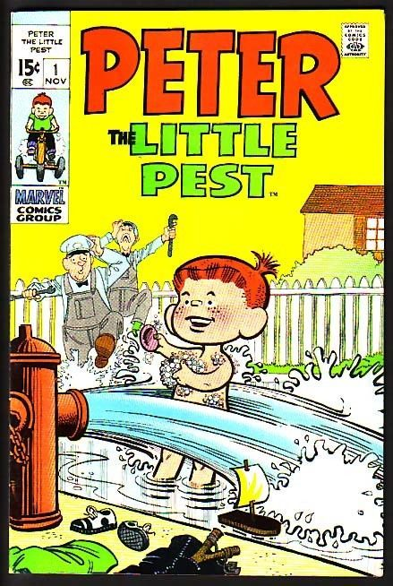 PETER THE LITTLE PEST-#1-JOE MANLEEY-L@@K VF/NM