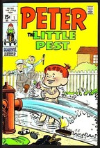 PETER THE LITTLE PEST-#1-JOE MANLEEY-L@@K VF/NM - $94.58