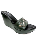 DONALD PLINER Jade Green 'Stima Size 9 1/2 Wedges Size 9.5 Sandals or Shoes - $44.00