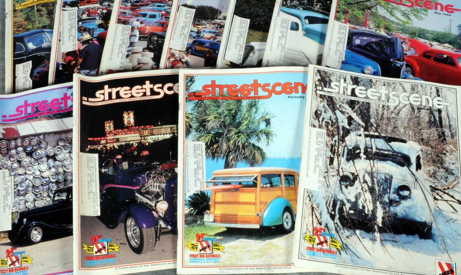 Primary image for Lot of 11 Magazines -  Streetscene (1994)