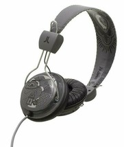 WeSC Limited Edition Birdy Nam Nam Premium Gray Over the Ears Headphones NIB
