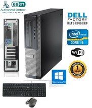 Dell Computer 390 Core i5-2400 DESKTOP PC 3.10Ghz 16Gb Ram 1TB Windows 10 Pro 64 - $453.95